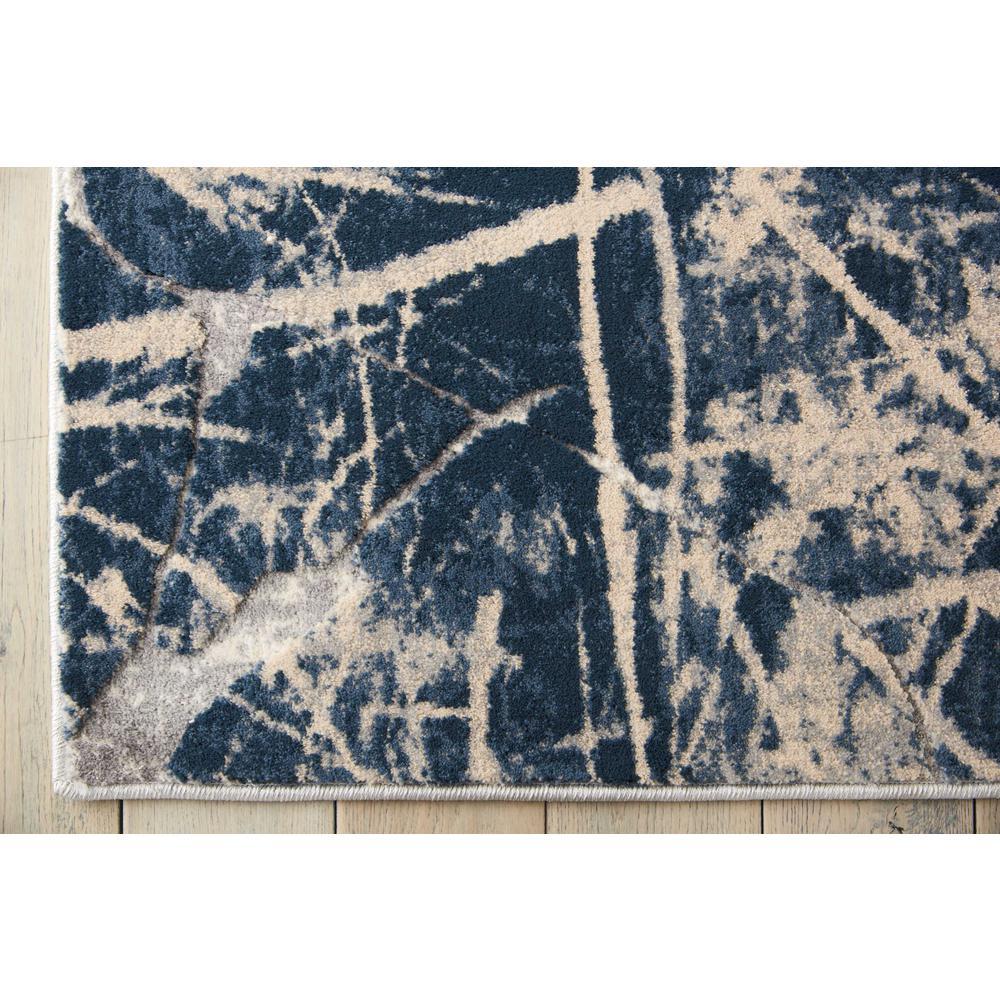 "KI35 Heritage Area Rug, Beige/Blue, 8' x 10'5"". Picture 4"