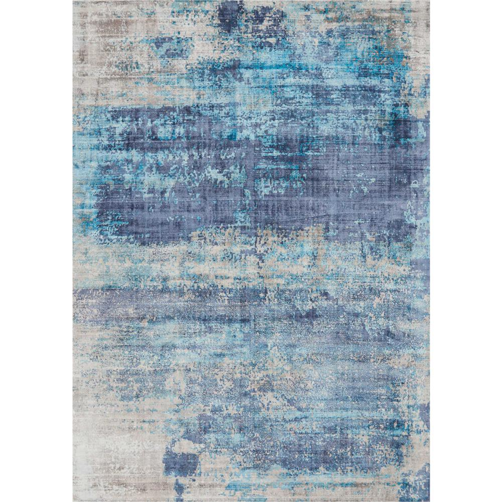 Kathy Ireland Safari Dreams Teal Area Rug By Nourison