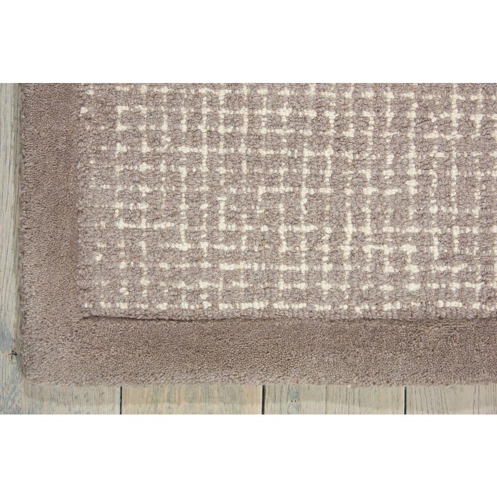 """River Brook Area Rug, Grey/Ivory, 7'9"""" x 9'9"""". Picture 4"""
