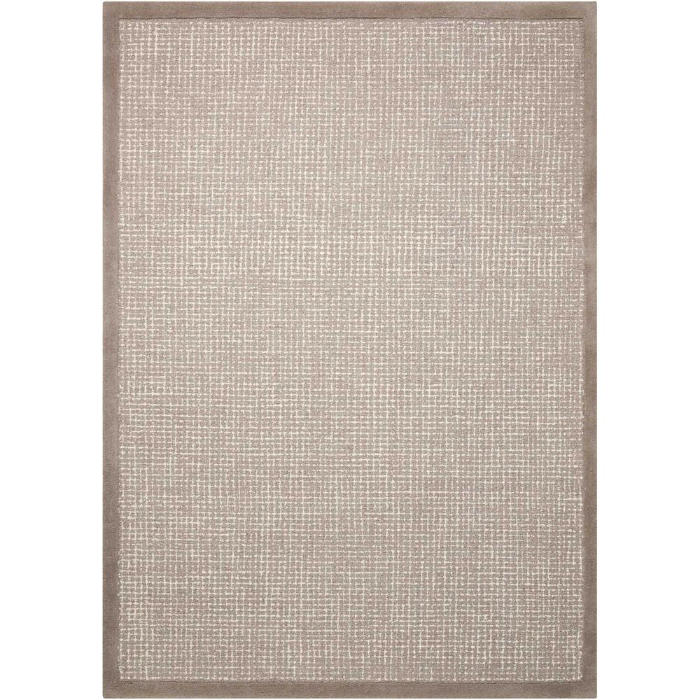 """River Brook Area Rug, Grey/Ivory, 7'9"""" x 9'9"""". Picture 2"""