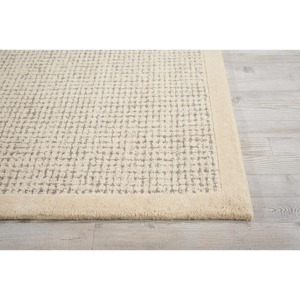 """River Brook Area Rug, Ivory/Grey, 3'9"""" x 5'9"""". Picture 3"""