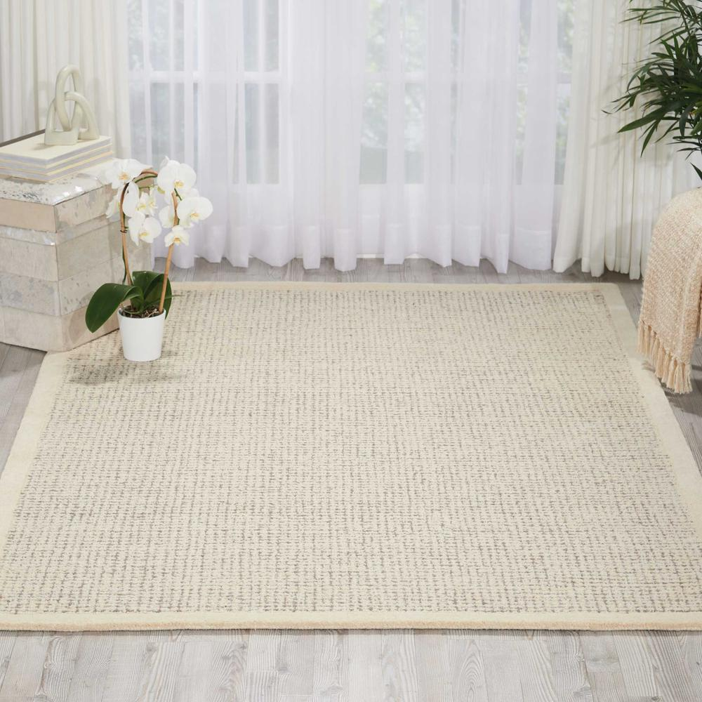 """River Brook Area Rug, Ivory/Grey, 3'9"""" x 5'9"""". Picture 2"""
