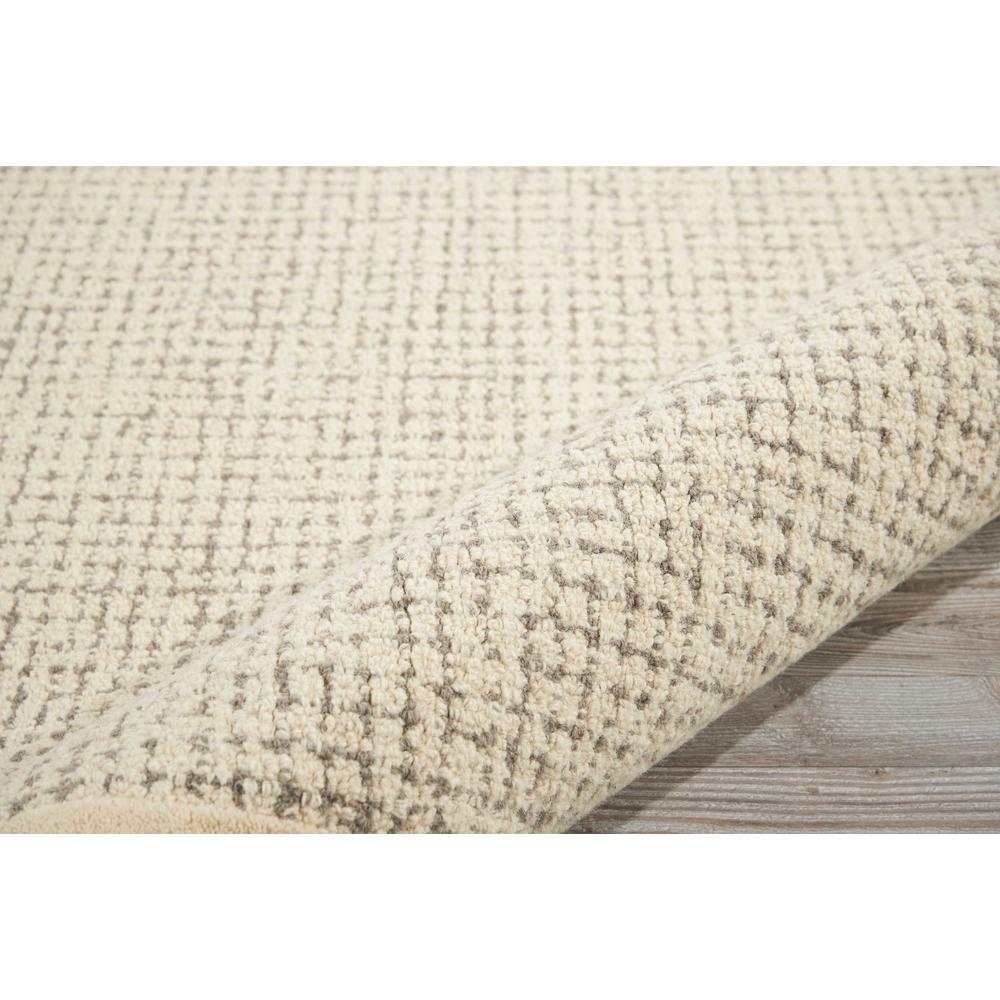 """River Brook Area Rug, Ivory/Grey, 3'9"""" x 5'9"""". Picture 5"""