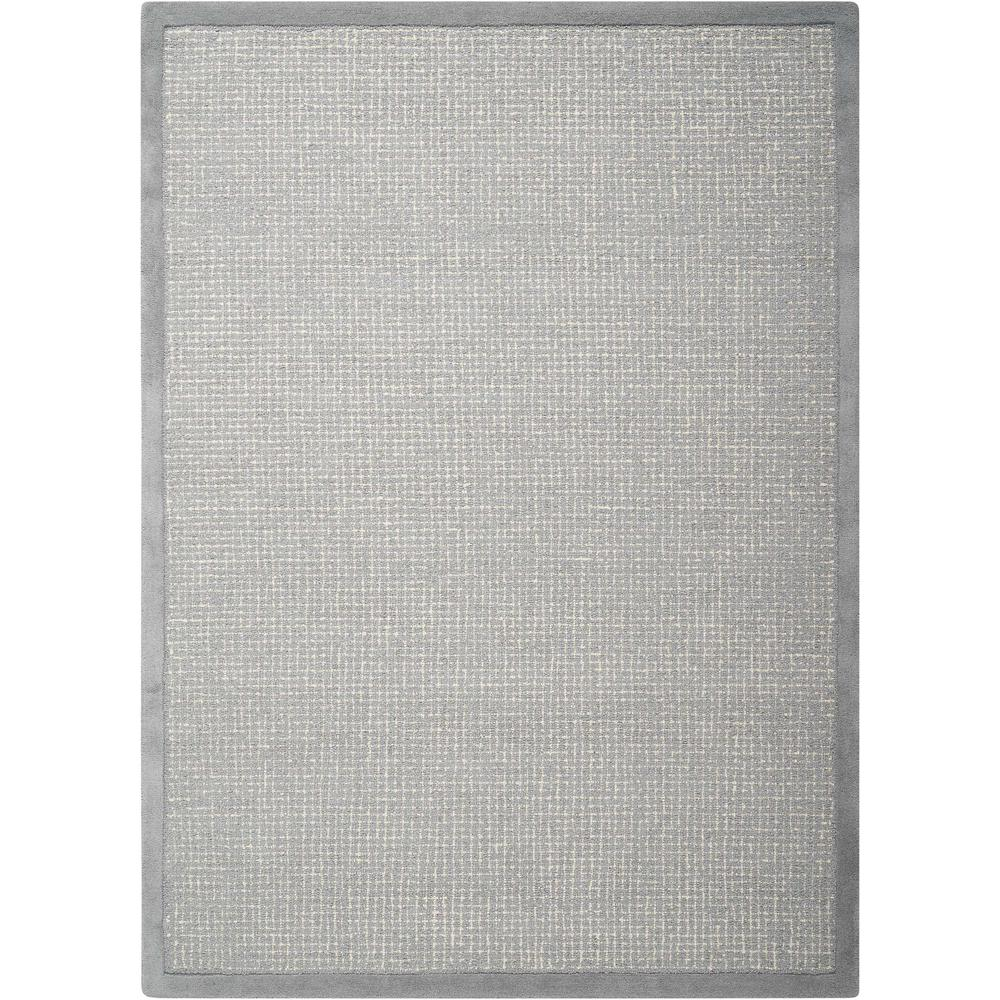 """River Brook Area Rug, Light Blue/Ivory, 7'9"""" x 9'9"""". Picture 1"""