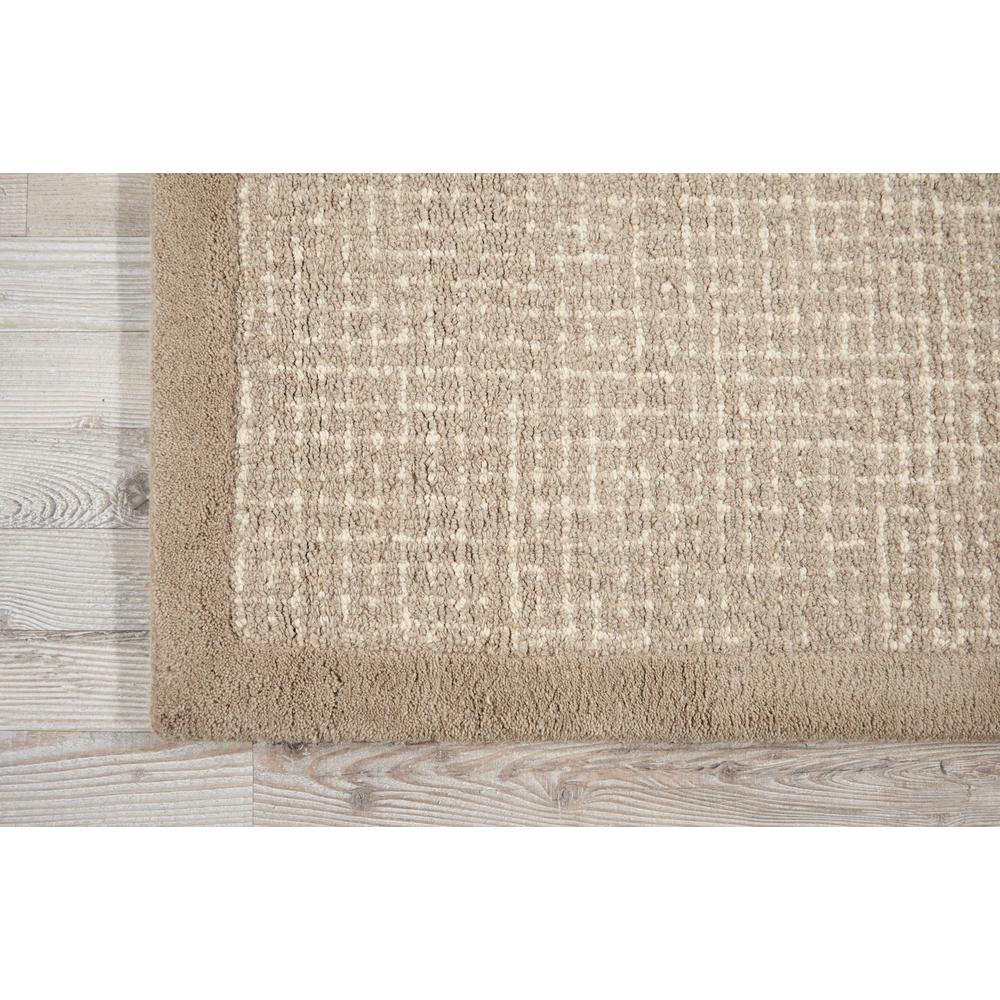 """River Brook Area Rug, Taupe/Ivory, 5'3"""" x 7'5"""". Picture 4"""