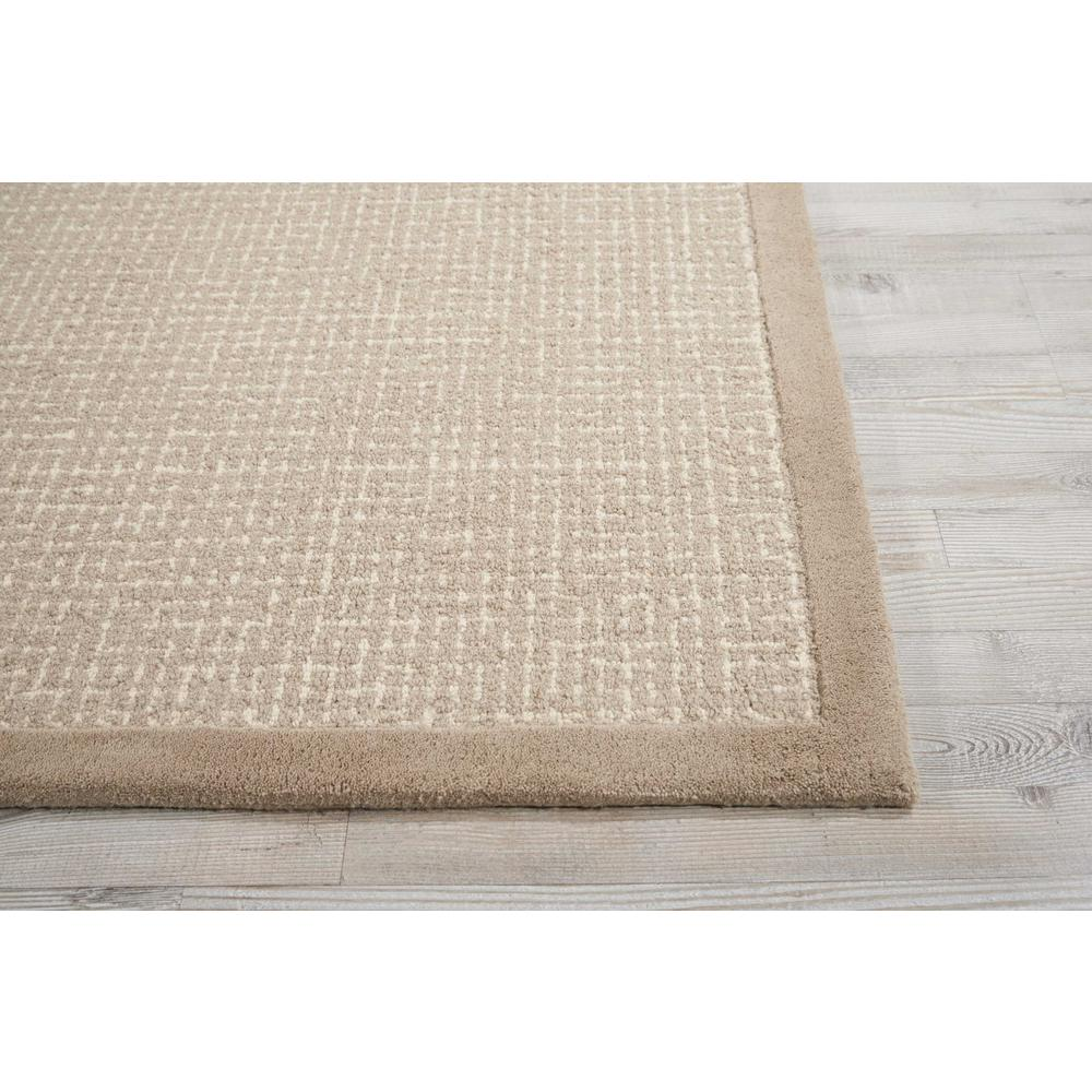 """River Brook Area Rug, Taupe/Ivory, 5'3"""" x 7'5"""". Picture 3"""