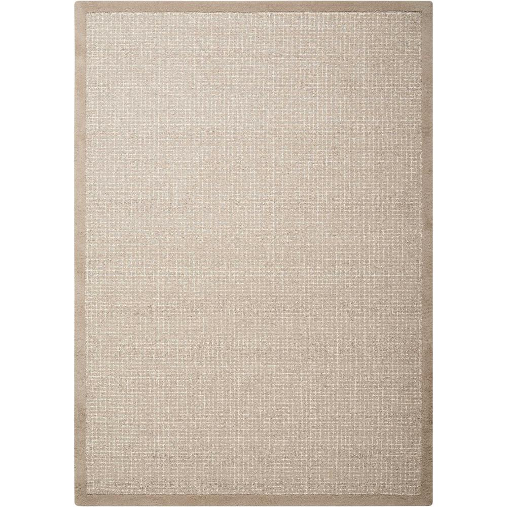 """River Brook Area Rug, Taupe/Ivory, 5'3"""" x 7'5"""". Picture 1"""