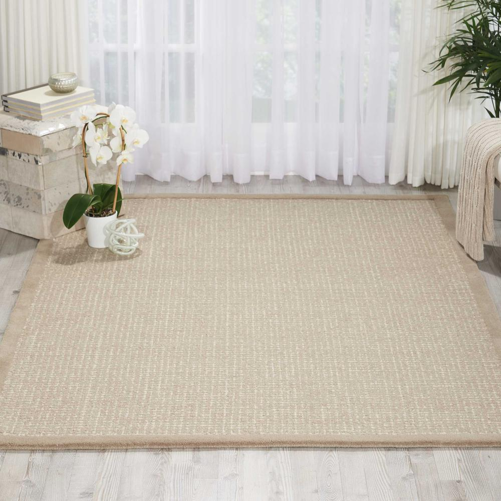 """River Brook Area Rug, Taupe/Ivory, 5'3"""" x 7'5"""". Picture 2"""