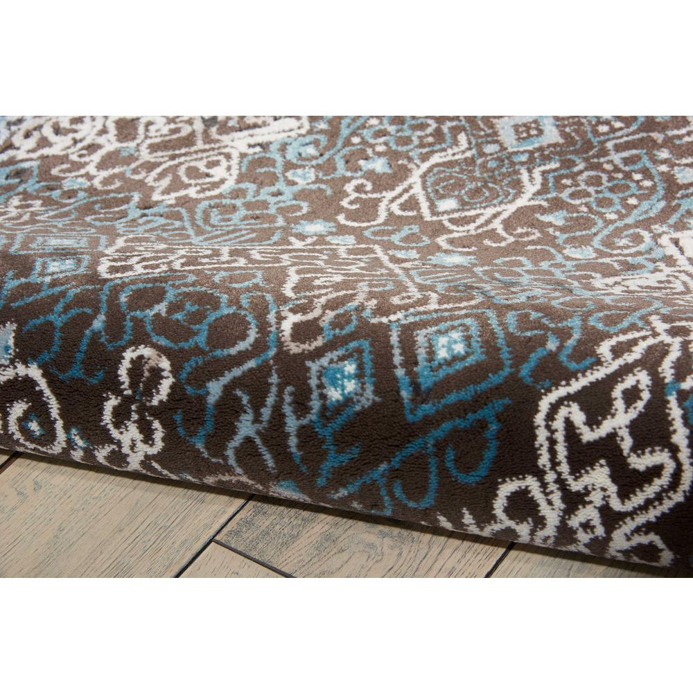 "Karma Area Rug, Blue, 5'3"" x 7'4"". Picture 6"