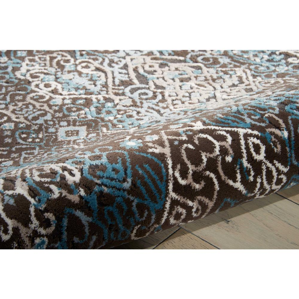 "Karma Area Rug, Blue, 5'3"" x 7'4"". Picture 7"