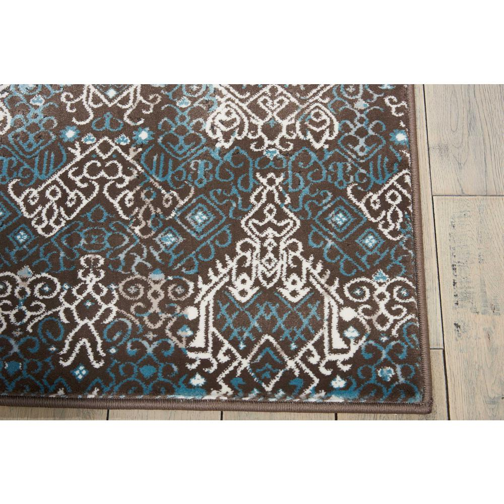 "Karma Area Rug, Blue, 2'2"" x 7'6"". Picture 5"
