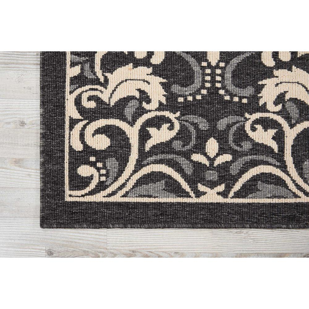 """Caribbean Area Rug, Charcoal, 9'3"""" x 12'9"""". Picture 2"""