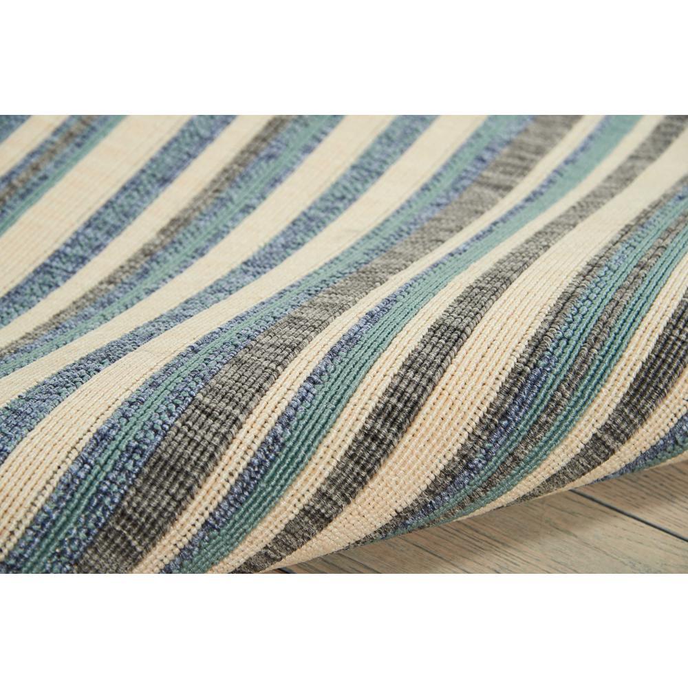 Barclay Butera Lido Blue/Cream Area Rug by Nourison. Picture 5