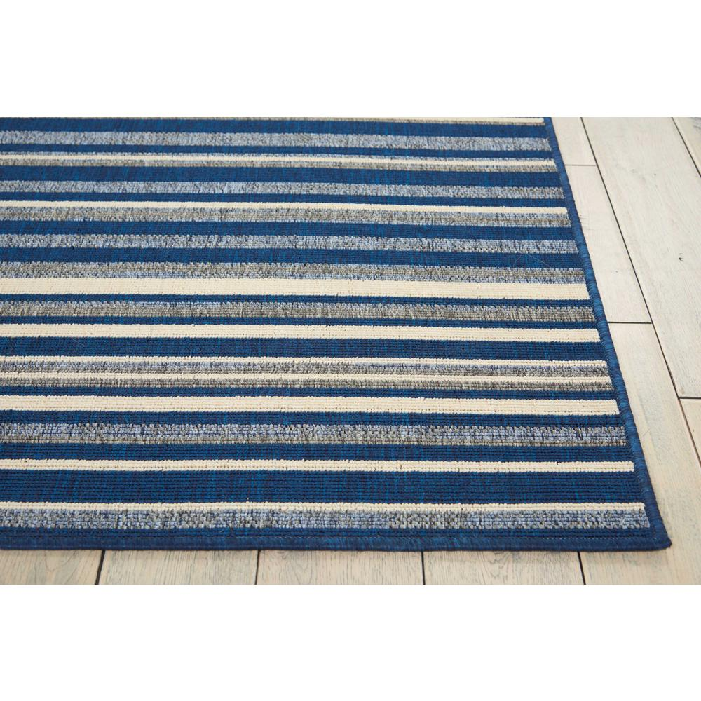 Barclay Butera Lido Navy/Cream Area Rug by Nourison. Picture 3