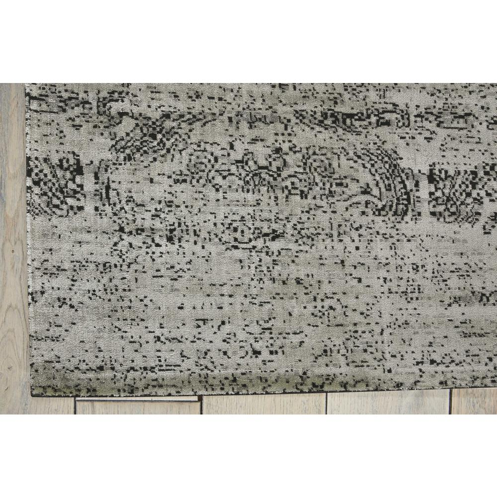 "Luminance Area Rug, Ivory/Black, 9'3"" x 12'9"". Picture 4"