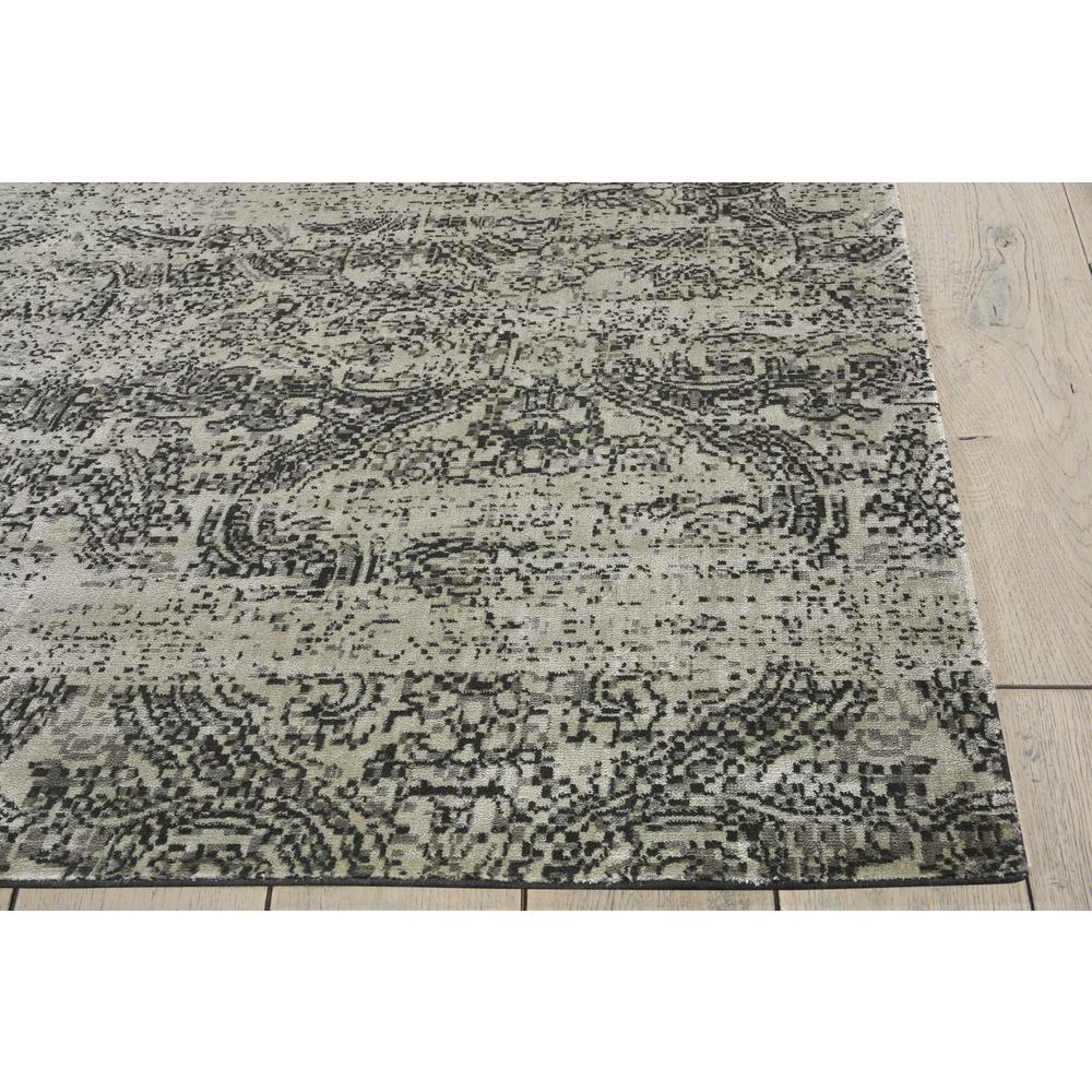"Luminance Area Rug, Ivory/Black, 9'3"" x 12'9"". Picture 5"