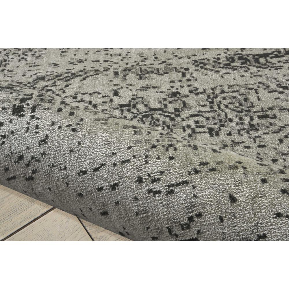 "Luminance Area Rug, Ivory/Black, 9'3"" x 12'9"". Picture 6"