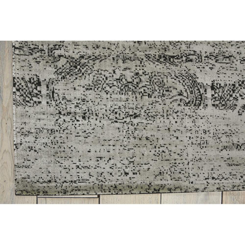"Luminance Area Rug, Ivory/Black, 7'6"" x 10'6"". Picture 2"