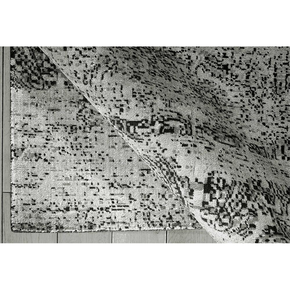 "Luminance Area Rug, Ivory/Black, 7'6"" x 10'6"". Picture 4"
