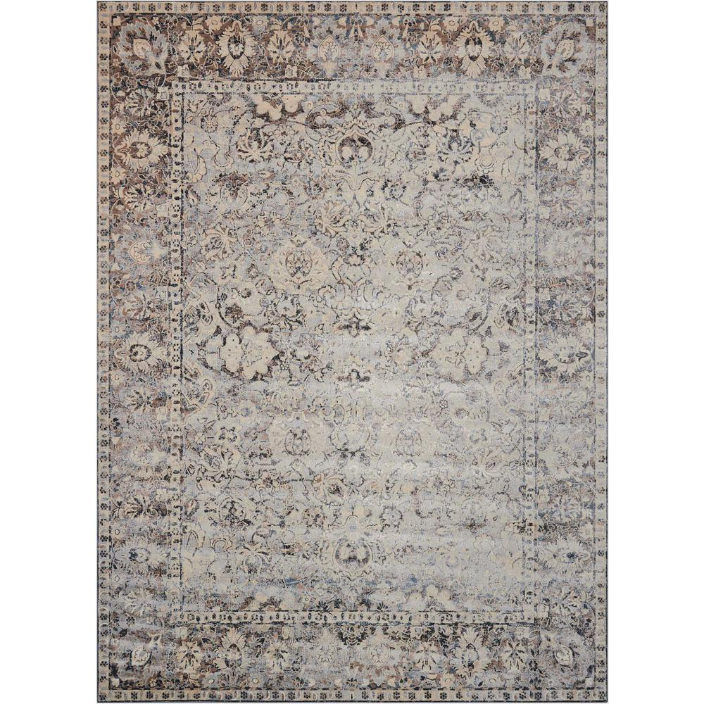 "KI25 Malta Area Rug, Slate, 7'10"" x 10'10"". The main picture."
