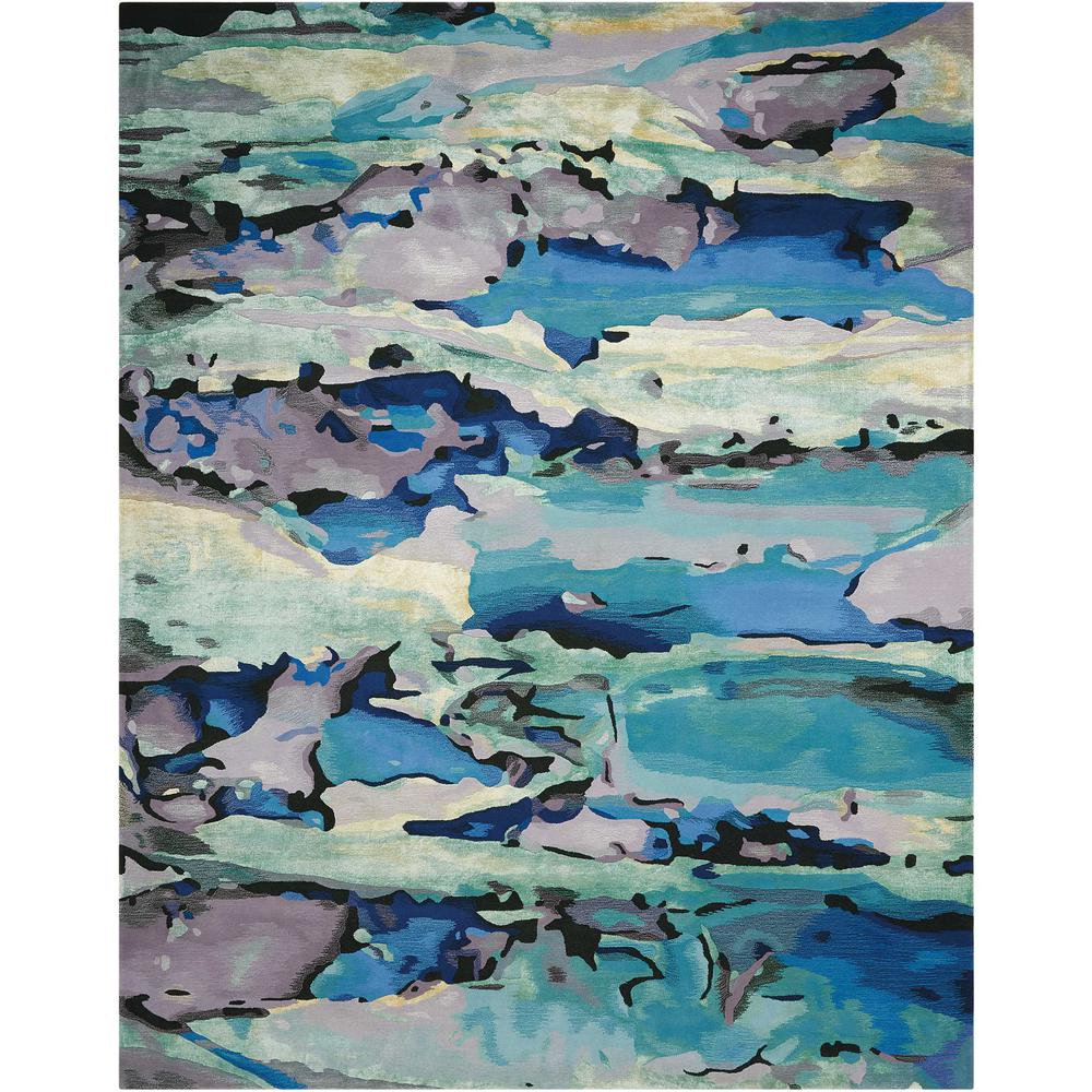 "Prismatic Area Rug, Seaglass, 8'6"" x 11'6"". Picture 1"