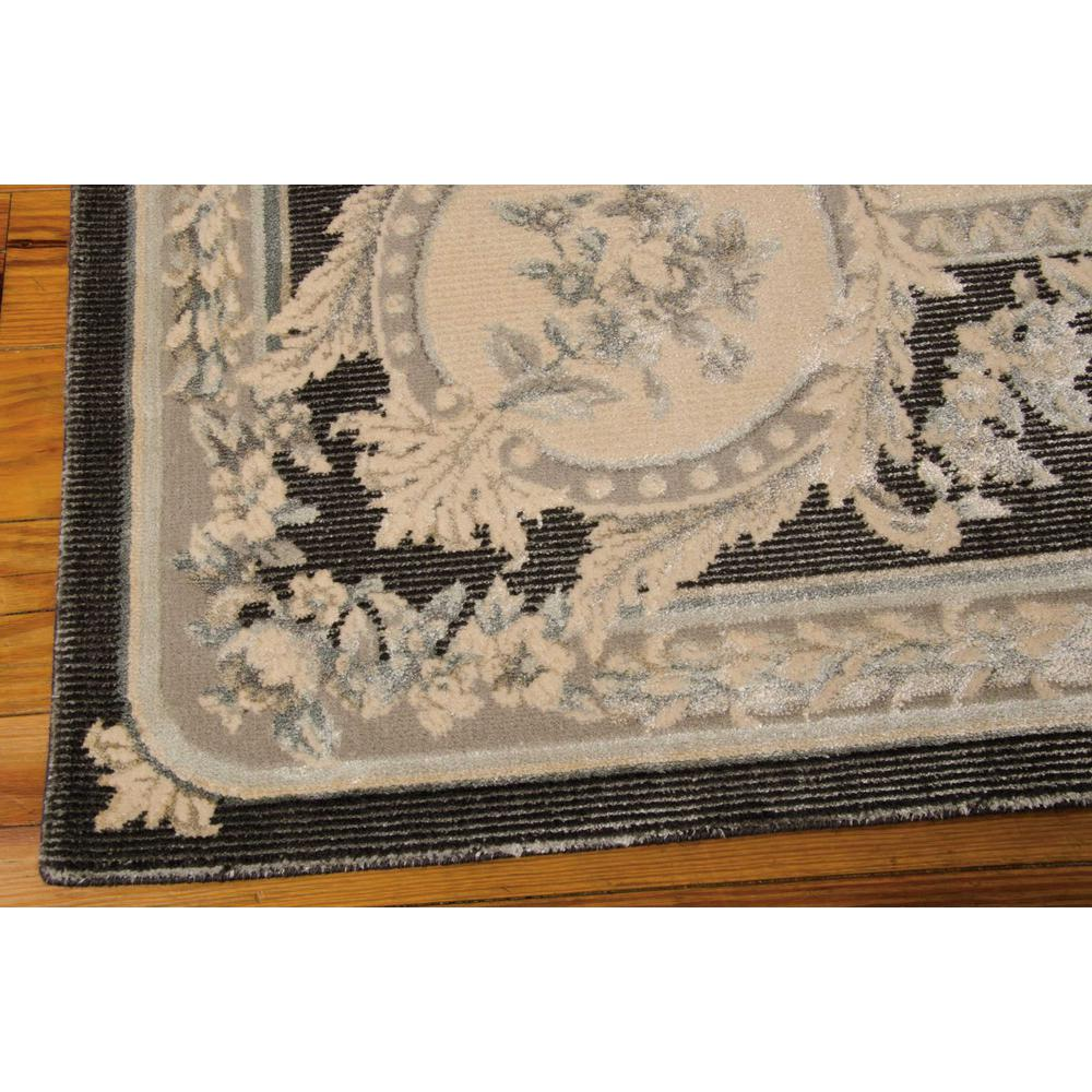 """Platine Area Rug, Charcoal, 5'3"""" x 7'5"""". Picture 4"""