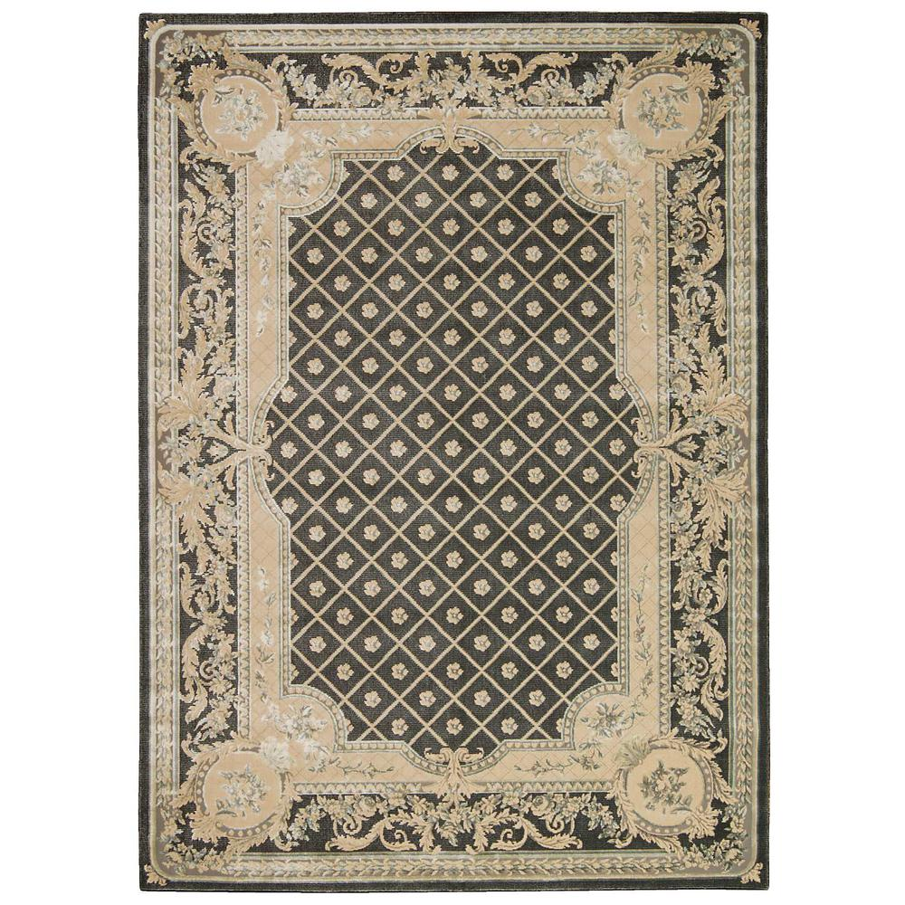 """Platine Area Rug, Charcoal, 5'3"""" x 7'5"""". Picture 1"""