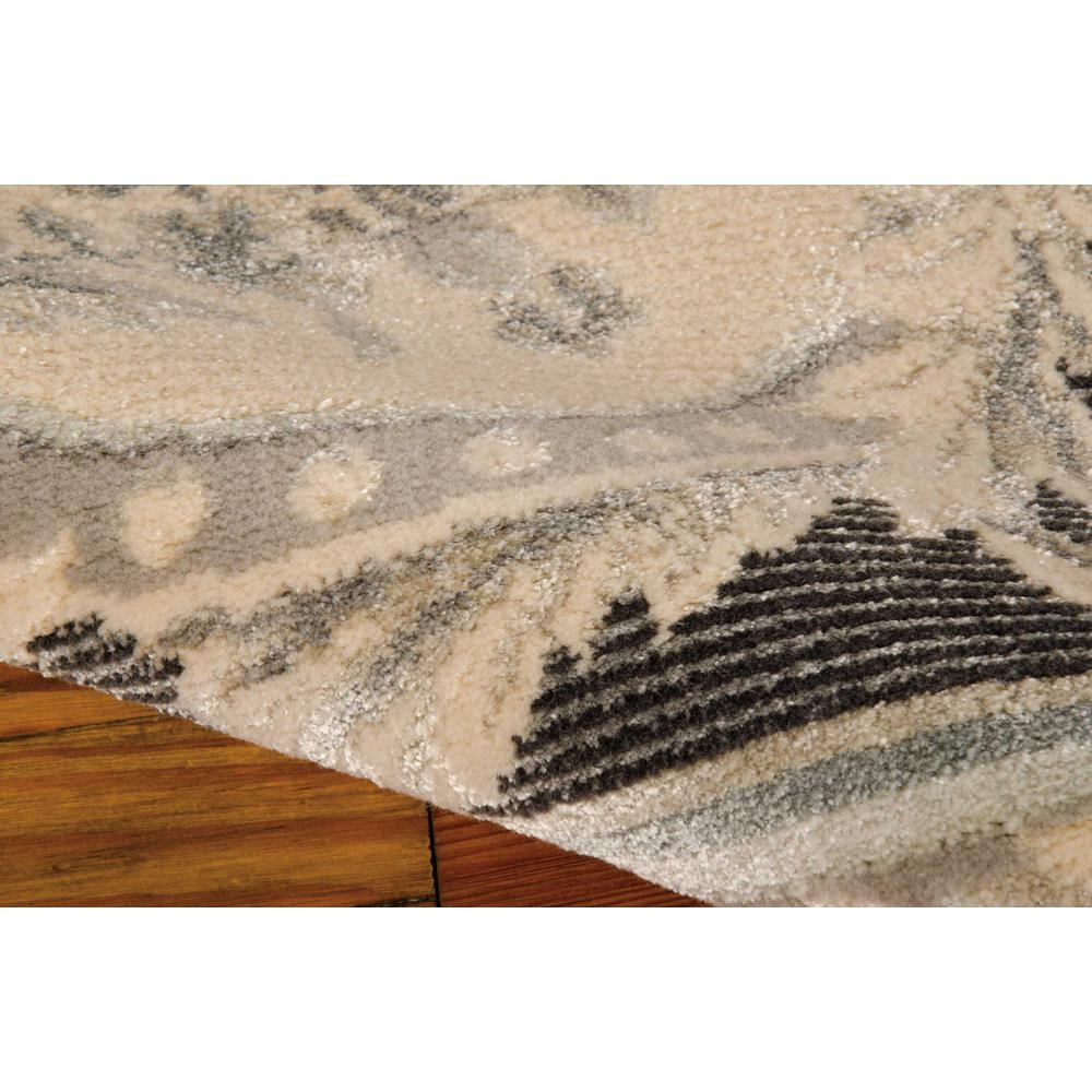 """Platine Area Rug, Charcoal, 5'3"""" x 7'5"""". Picture 5"""