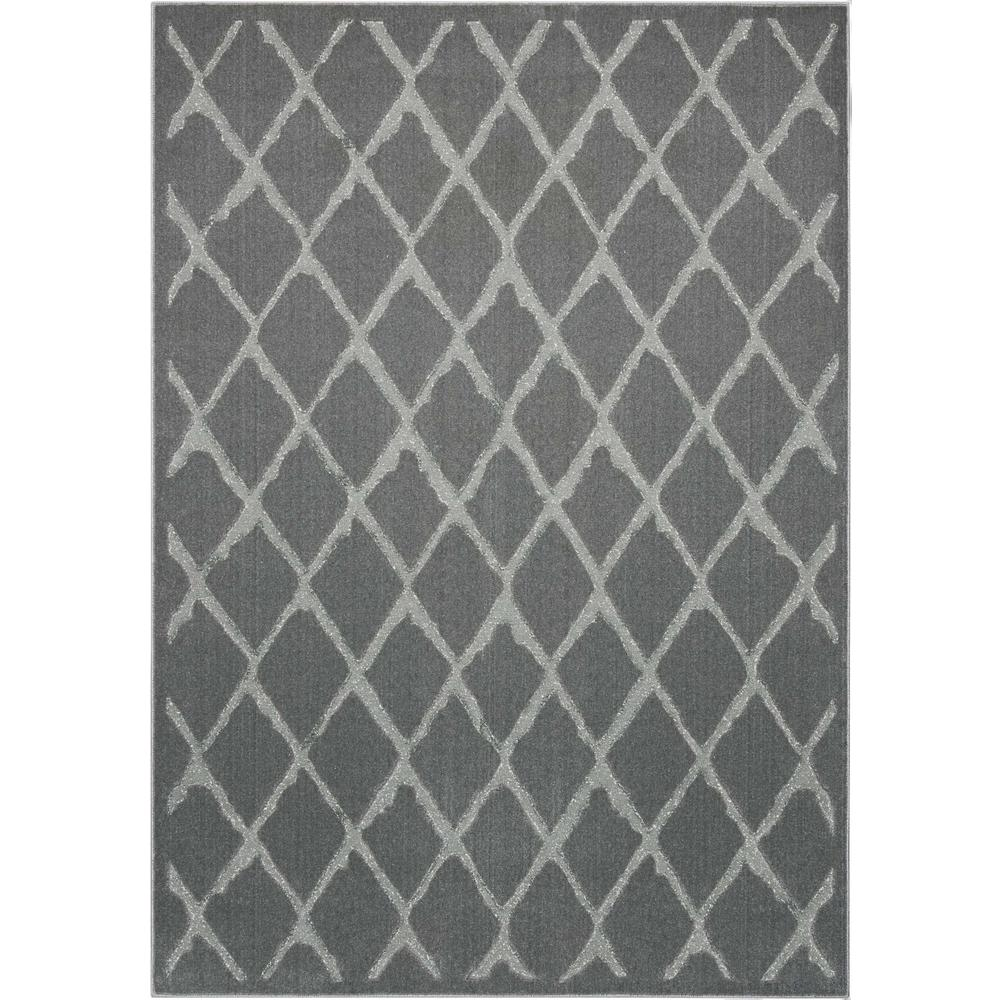 "Gleam Area Rug, Grey, 9'3"" x 12'9"". Picture 1"