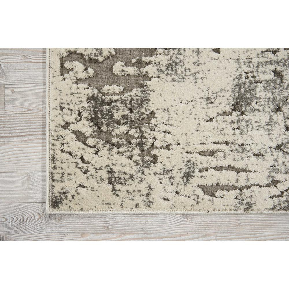 """Gleam Area Rug, Ivory/Grey, 2'2"""" x 7'6"""". Picture 4"""