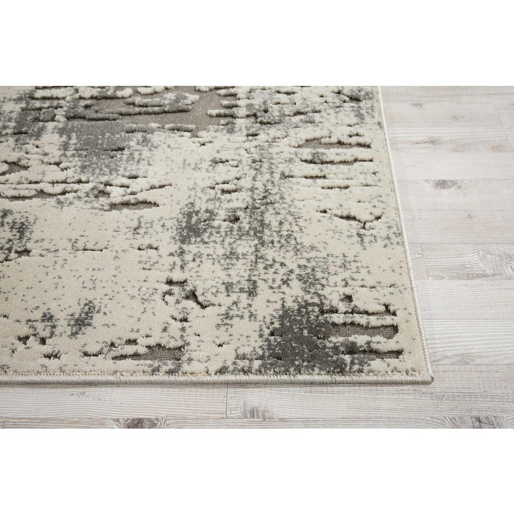 """Gleam Area Rug, Ivory/Grey, 2'2"""" x 7'6"""". Picture 3"""