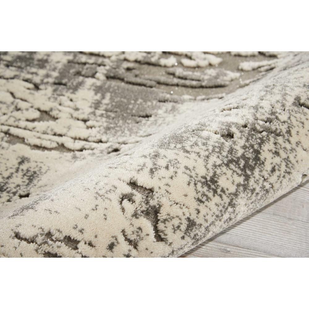 """Gleam Area Rug, Ivory/Grey, 2'2"""" x 7'6"""". Picture 5"""