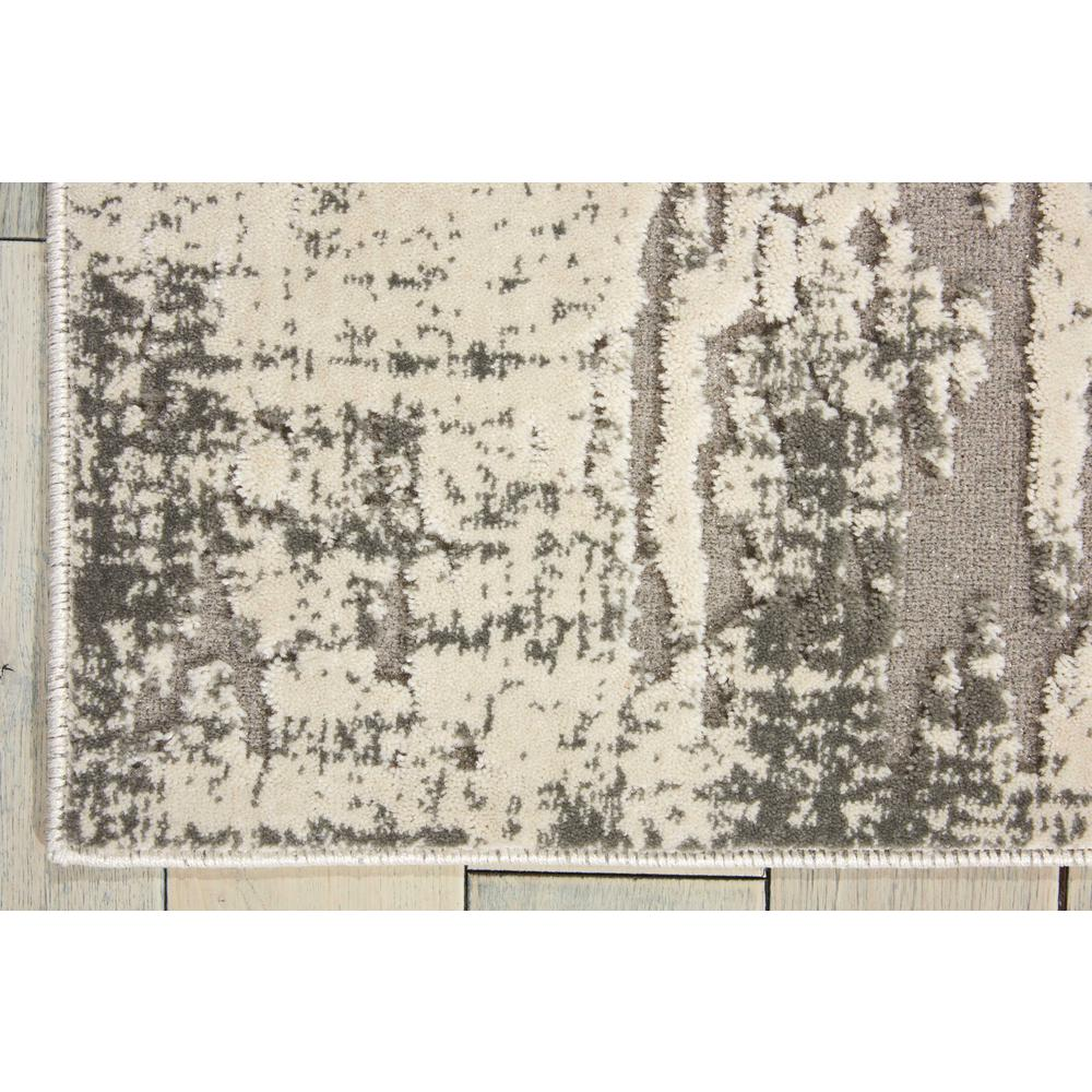"Gleam Area Rug, Ivory/Grey, 7'10"" x 10'6"". Picture 4"