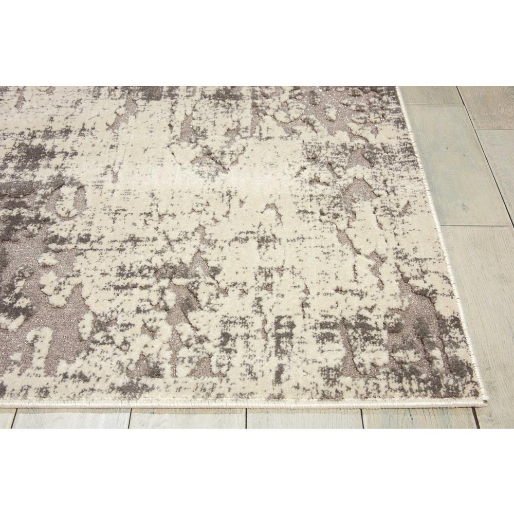 "Gleam Area Rug, Ivory/Grey, 7'10"" x 10'6"". Picture 3"