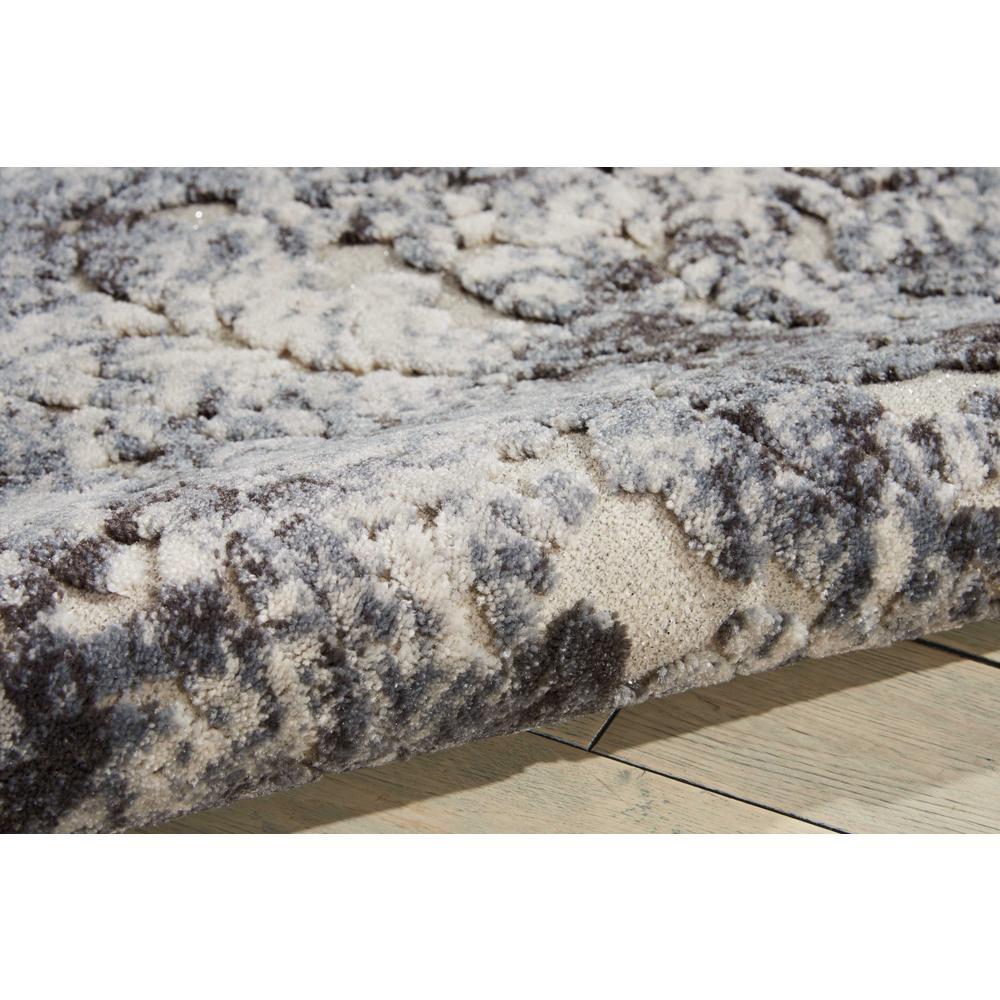 "Gleam Area Rug, Ivory/Slate, 9'3"" x 12'9"". Picture 5"