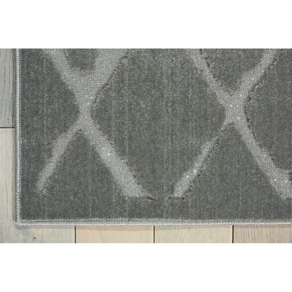 "Gleam Area Rug, Grey, 5'3"" x 7'3"". Picture 3"