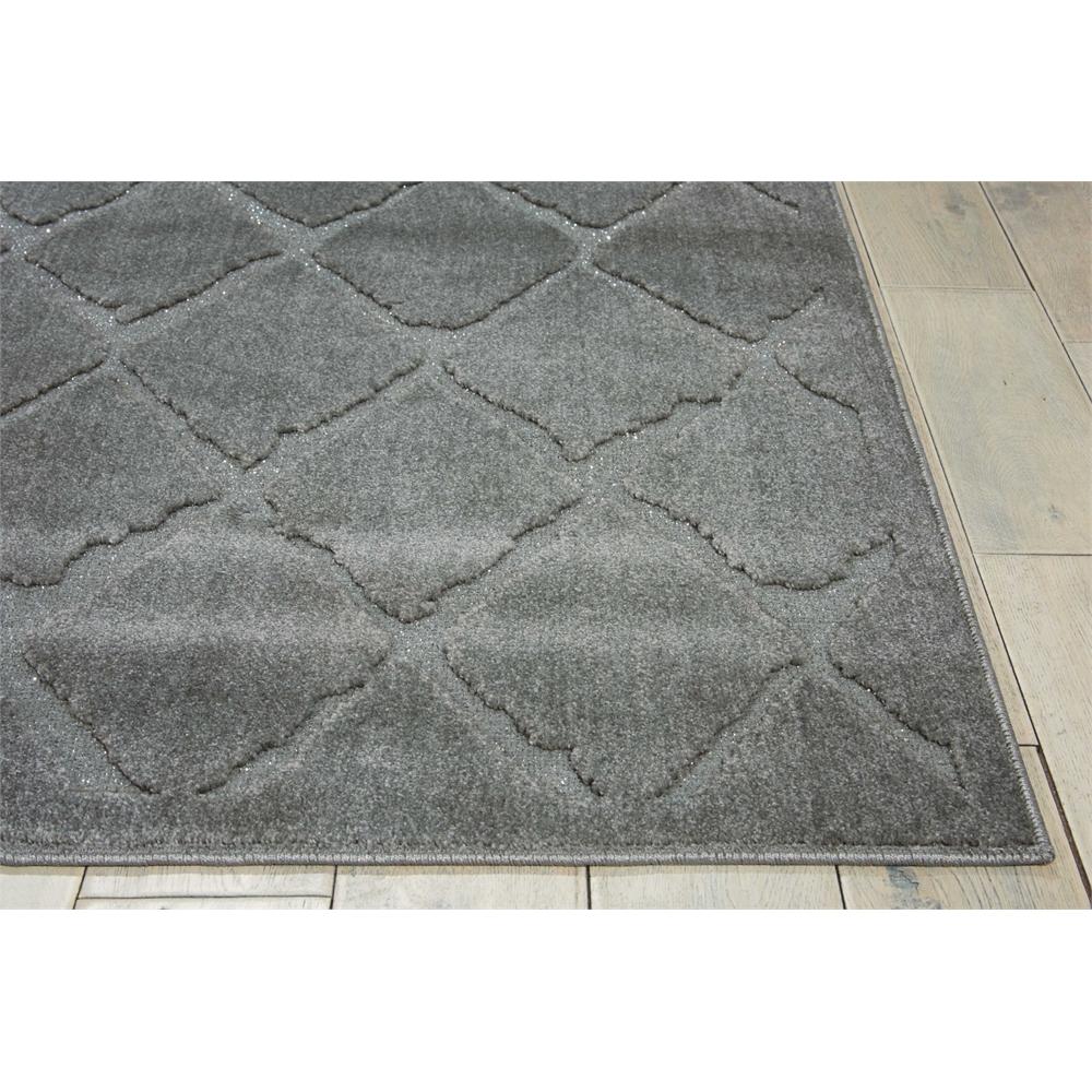 "Gleam Area Rug, Grey, 5'3"" x 7'3"". Picture 5"