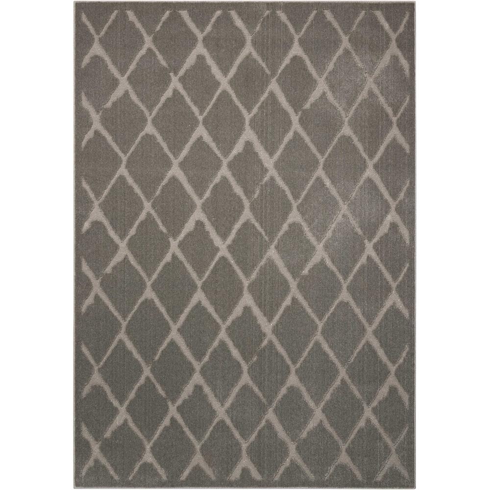 "Gleam Area Rug, Grey, 5'3"" x 7'3"". Picture 1"