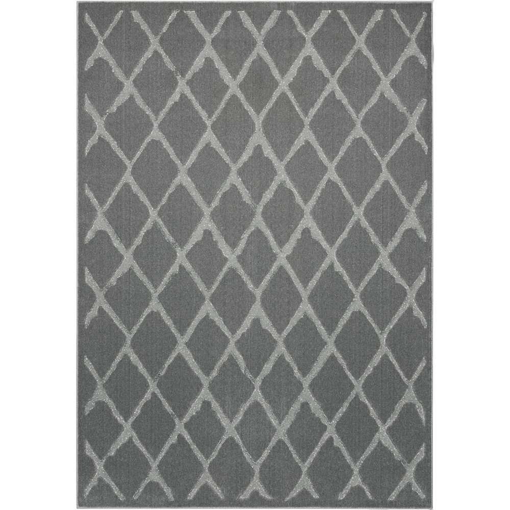"Gleam Area Rug, Grey, 5'3"" x 7'3"". Picture 6"