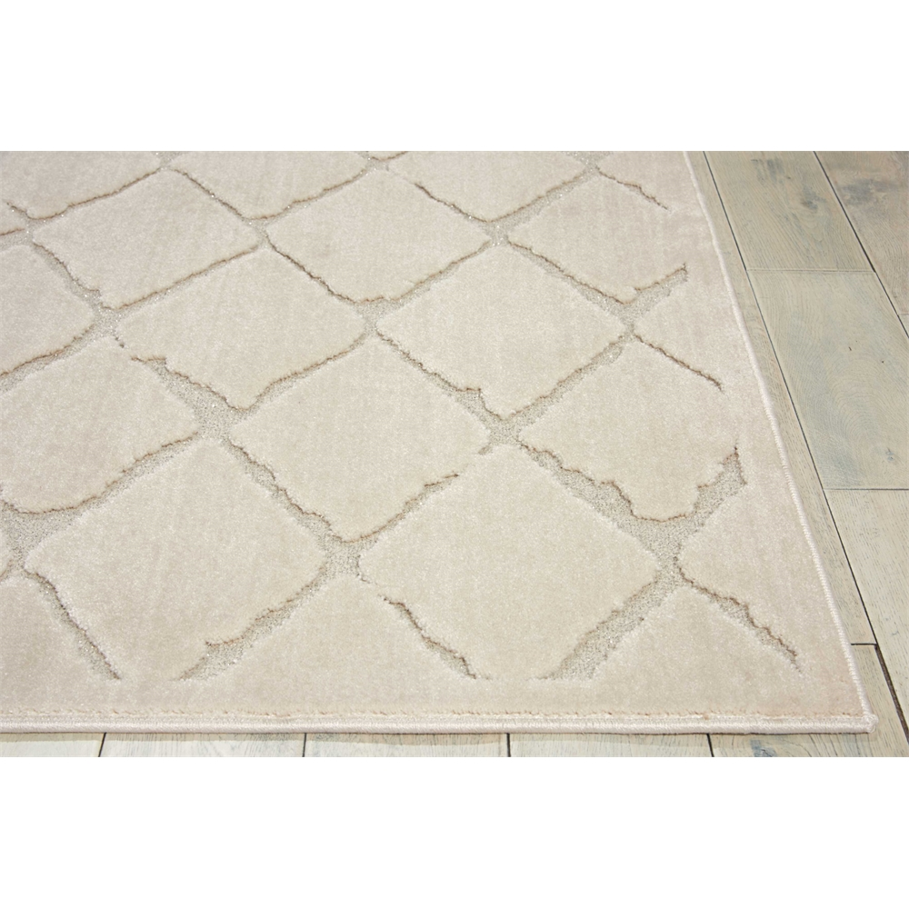 """Gleam Area Rug, Ivory, 5'3"""" x 7'3"""". Picture 3"""