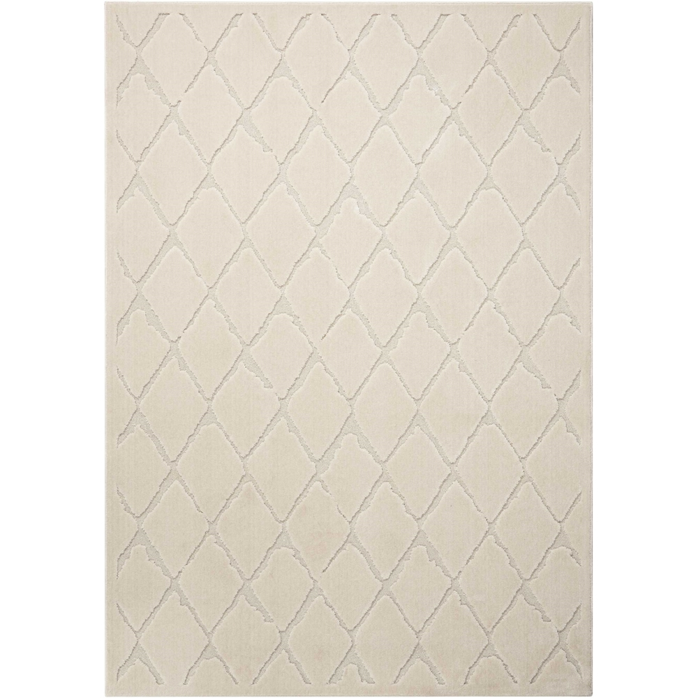 """Gleam Area Rug, Ivory, 5'3"""" x 7'3"""". Picture 1"""