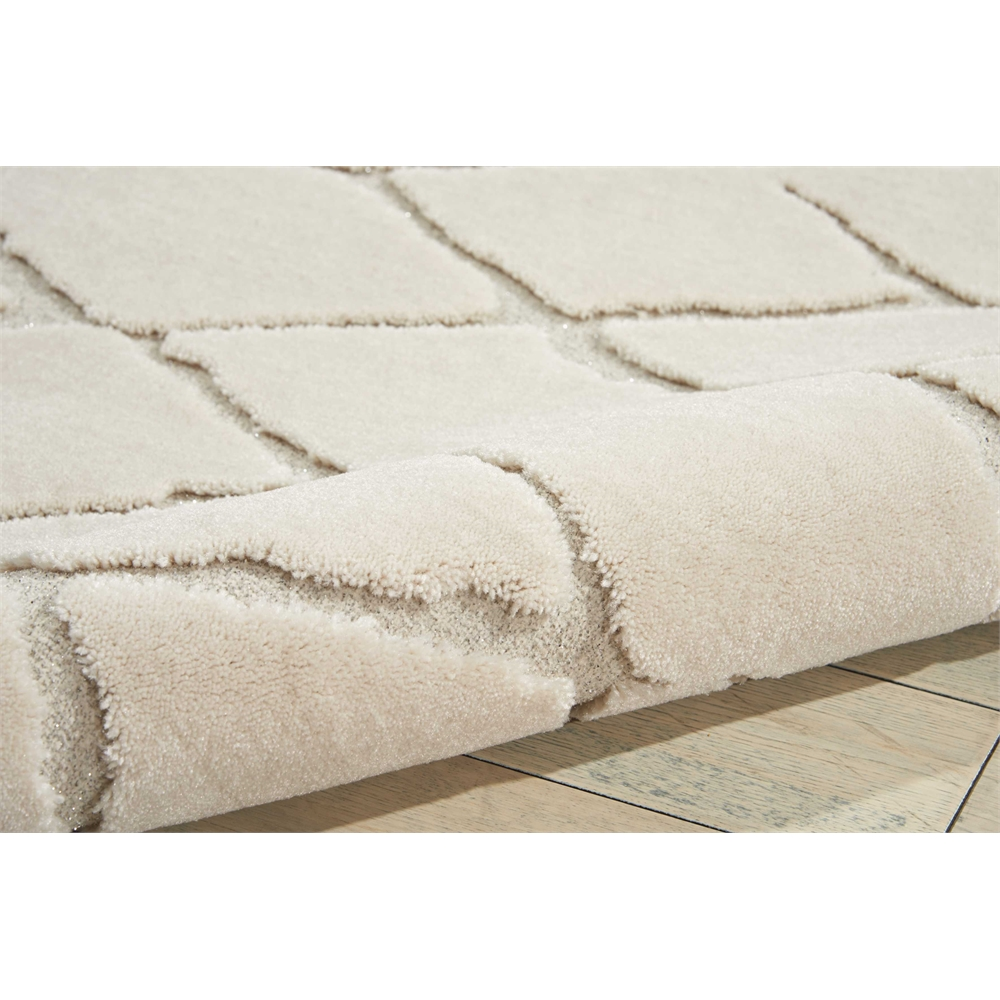 """Gleam Area Rug, Ivory, 5'3"""" x 7'3"""". Picture 5"""