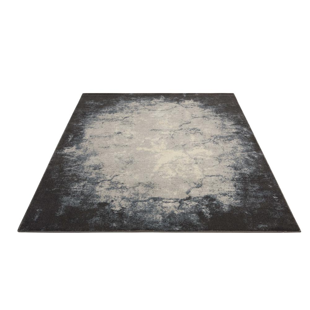 "Maxell Area Rug, Ivory/Grey, 9'3"" x 12'9"". Picture 3"