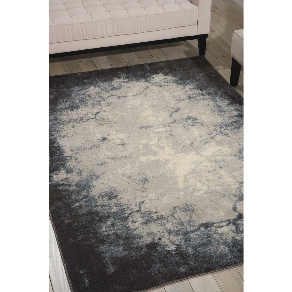 "Maxell Area Rug, Ivory/Grey, 9'3"" x 12'9"". Picture 2"