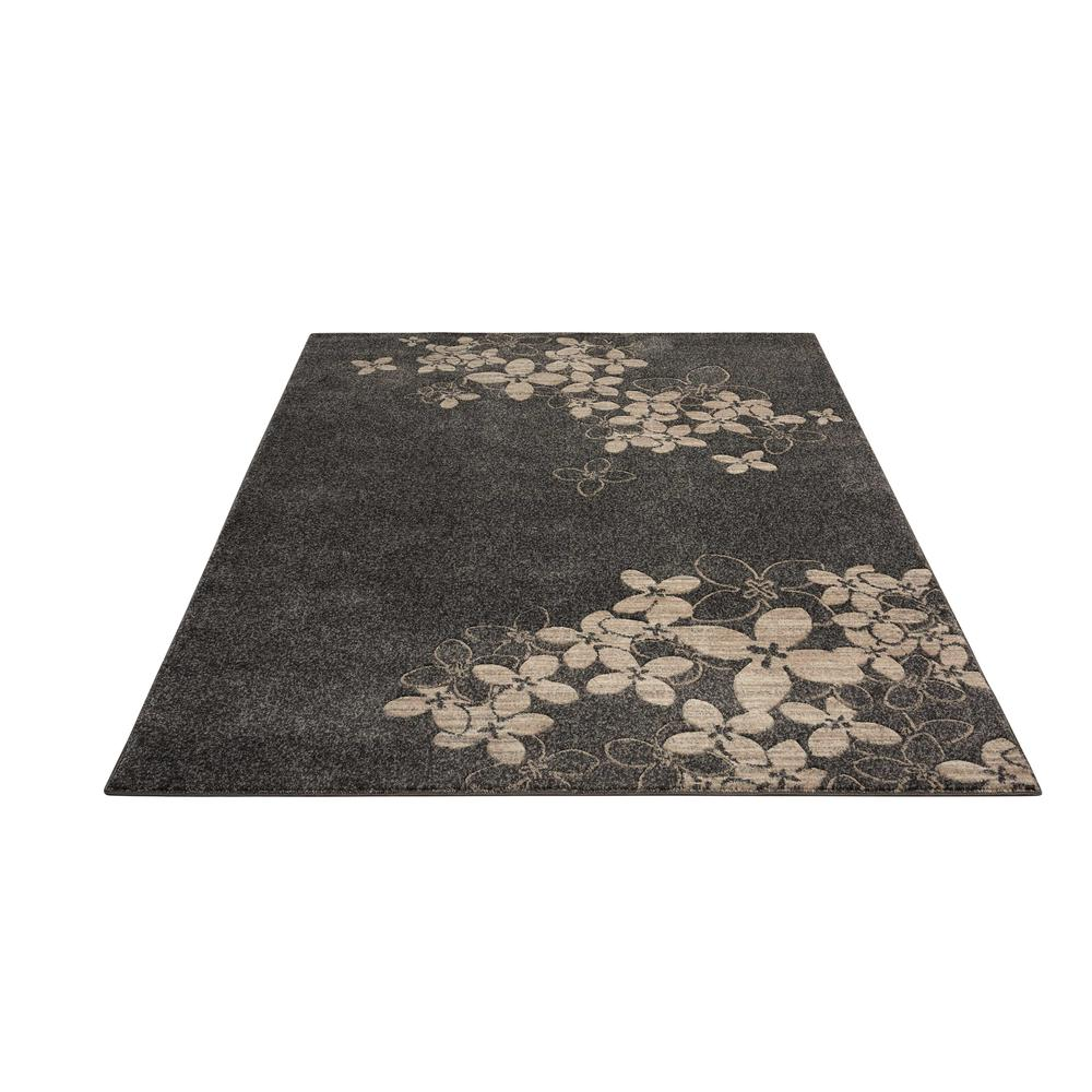 """Maxell Area Rug, Charcoal, 3'10"""" x 5'10"""". Picture 3"""