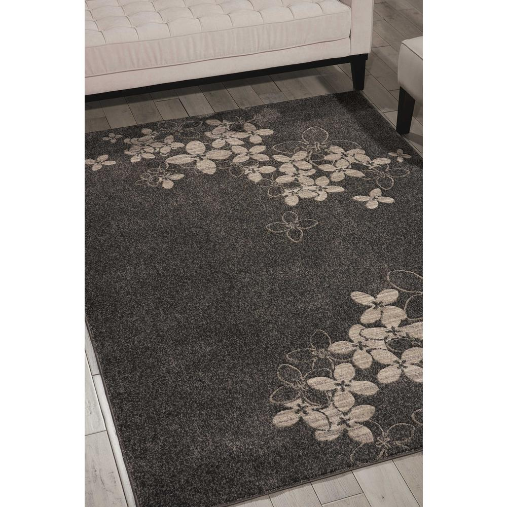 """Maxell Area Rug, Charcoal, 3'10"""" x 5'10"""". Picture 2"""