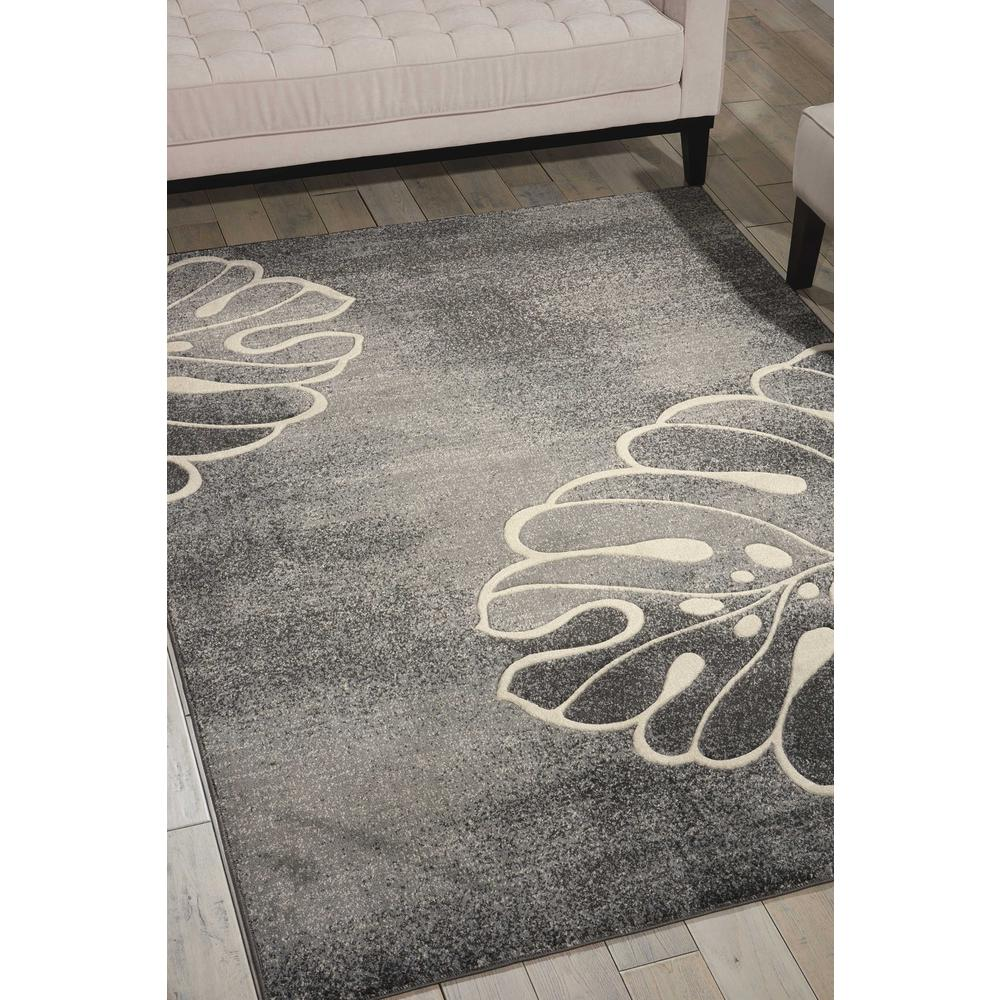 "Maxell Area Rug, Grey, 9'3"" x 12'9"". Picture 2"