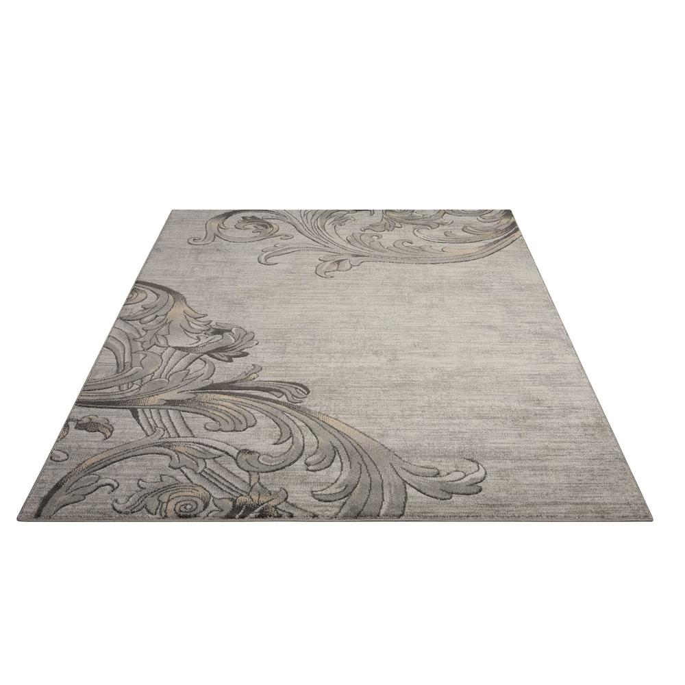 "Maxell Area Rug, Graphite, 9'3"" x 12'9"". Picture 3"