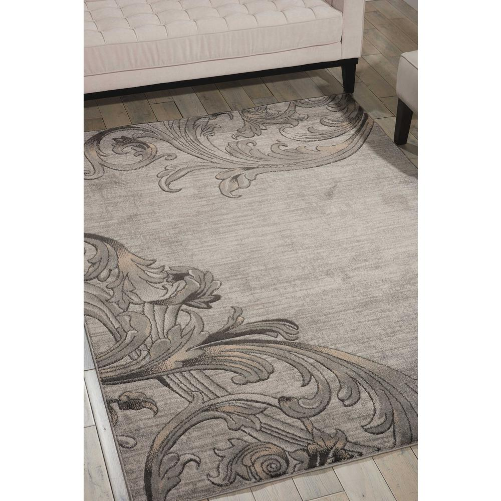 "Maxell Area Rug, Graphite, 9'3"" x 12'9"". Picture 2"