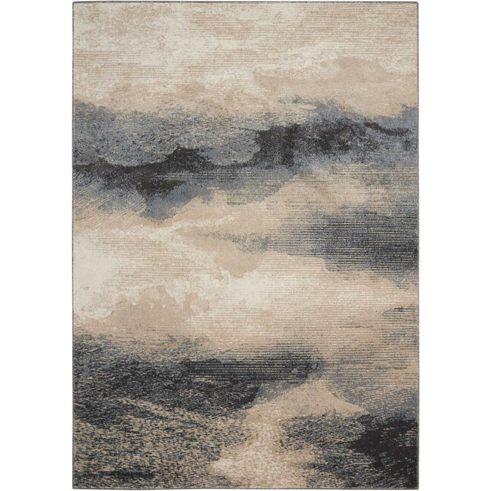 """Maxell Area Rug, Flint, 3'10"""" x 5'10"""". Picture 1"""